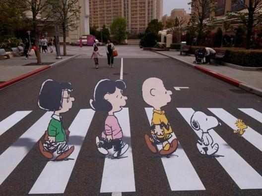 Los 15 mejores cruces peatonales intervenidos con arte urbano, © vía Plataforma Urbana