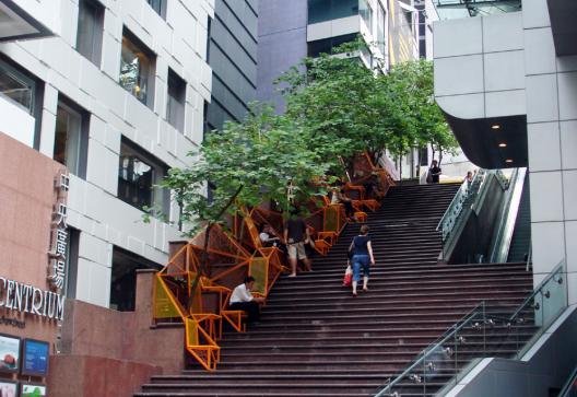 """Reprogramación de la ciudad: 10 ideas para reutilizar la infraestructura urbana, © """"The Cascade"""". Fuente: Urbaning"""