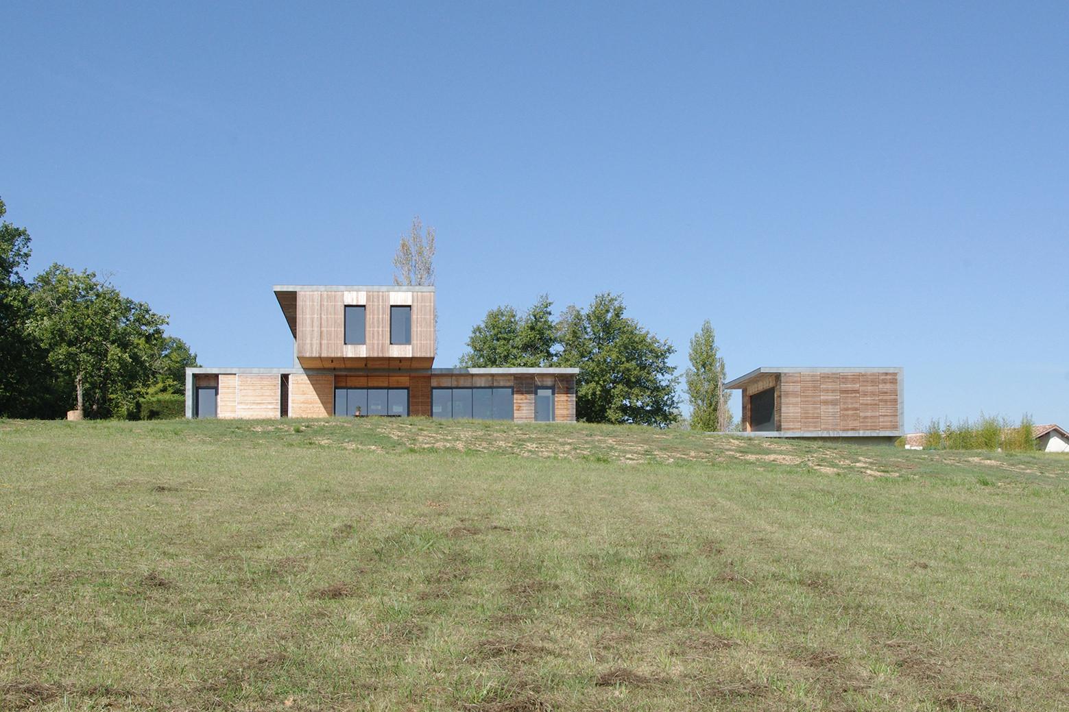Maison l 39 estelle fran ois primault architecte archdaily - Francois brugel architecte ...