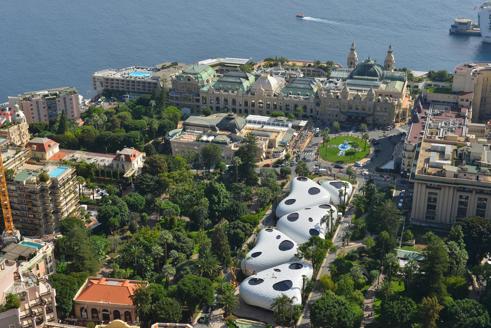 Pabellones Monte-Carlo / Affine Design, © Rémy Schejbal