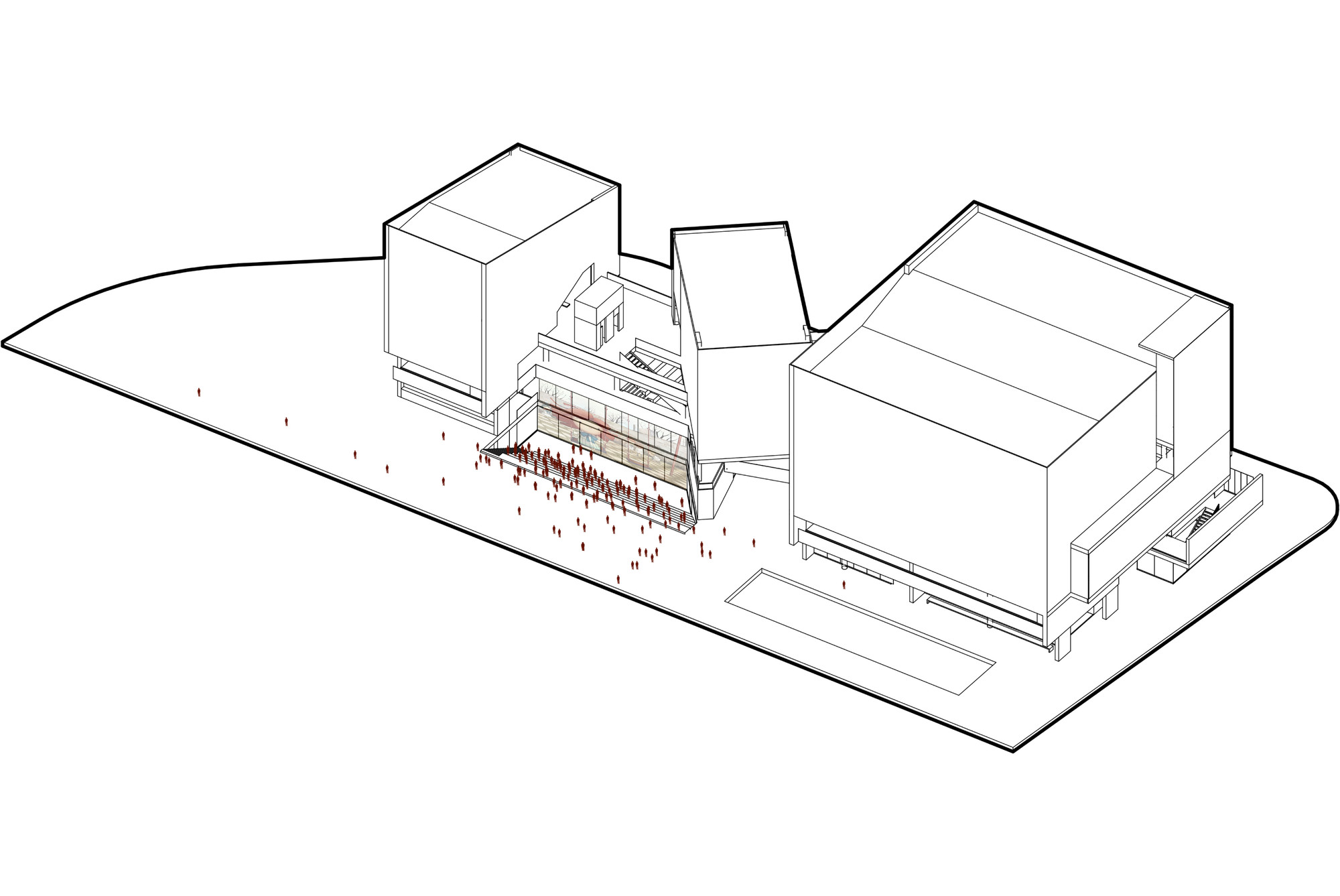 Usos #02. Image Cortesia de Eje A Arquitectura y Urbanismo