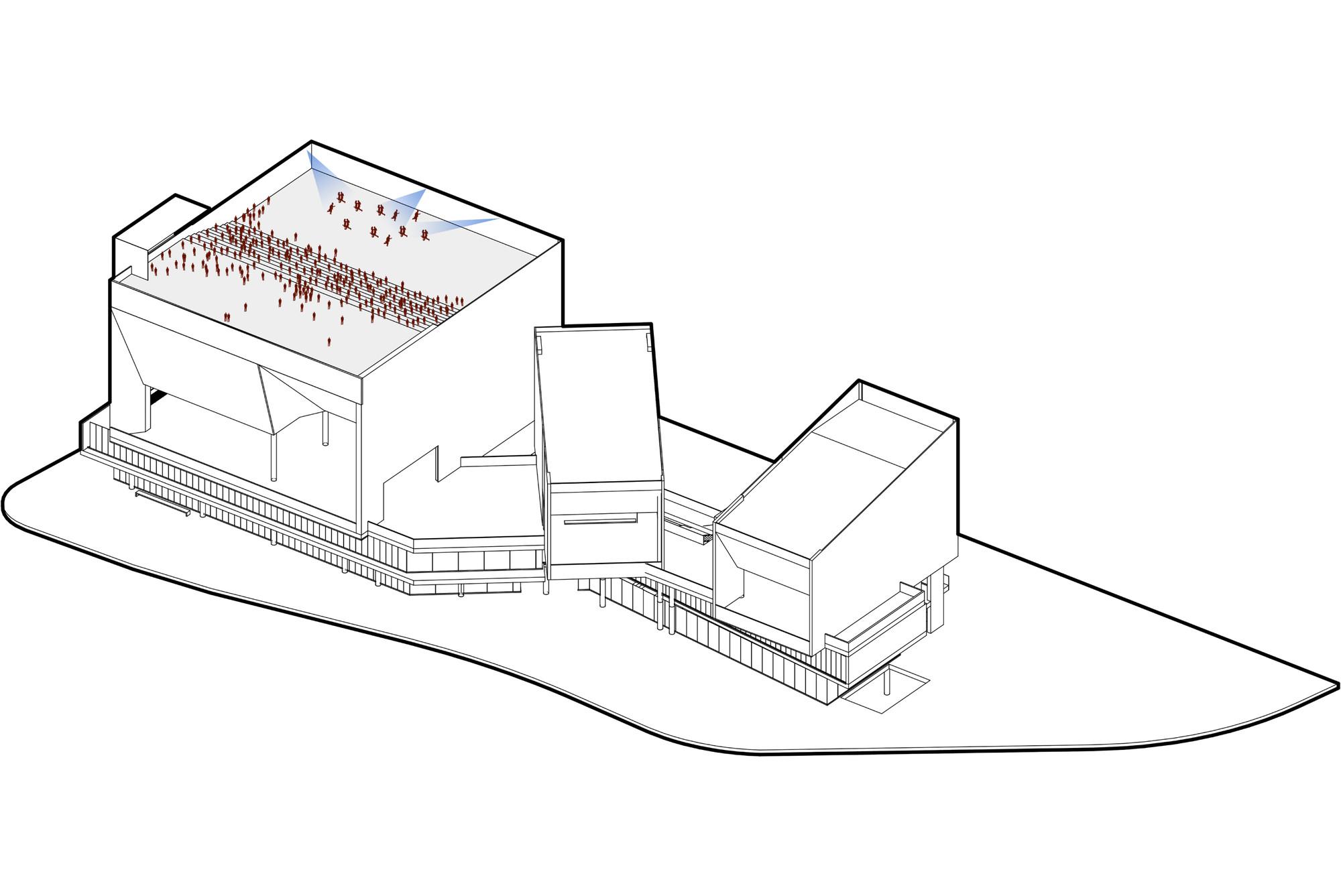 Usos #03. Image Cortesia de Eje A Arquitectura y Urbanismo