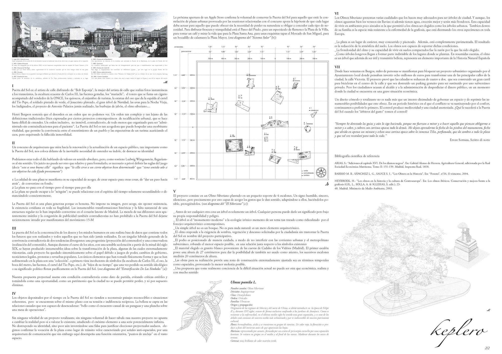 Propuesta: Keplero, lámina de presentación. Image Cortesia de Fosbury Architecture