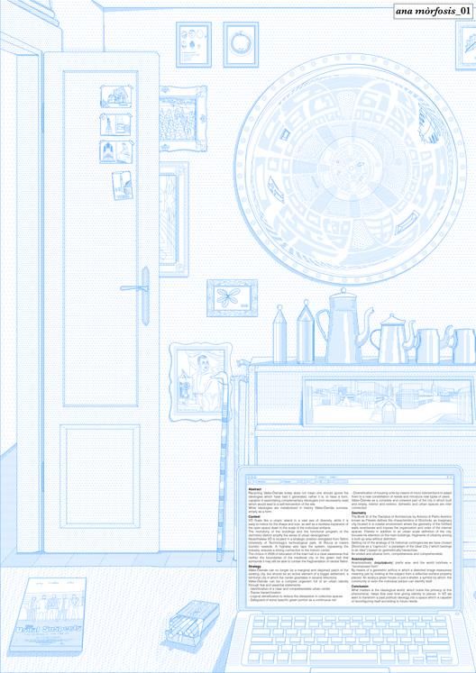 Anamorphosis: lámina #01. Image Cortesia de Fosbury Architecture