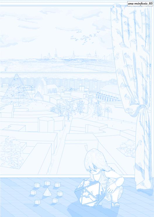 Anamorphosis: lámina #03. Image Cortesia de Fosbury Architecture