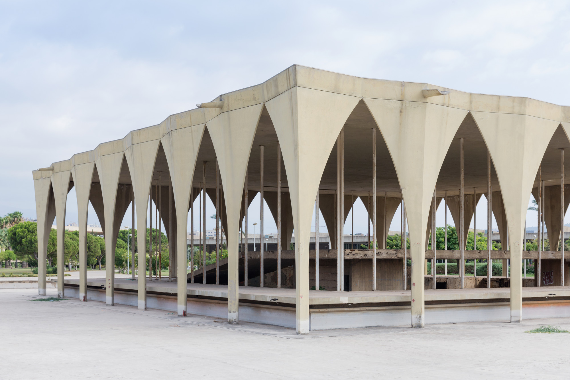 Feria Internacional de Trípoli, de Oscar Niemeyer; Trípoli. Imagen © Iwan Baan