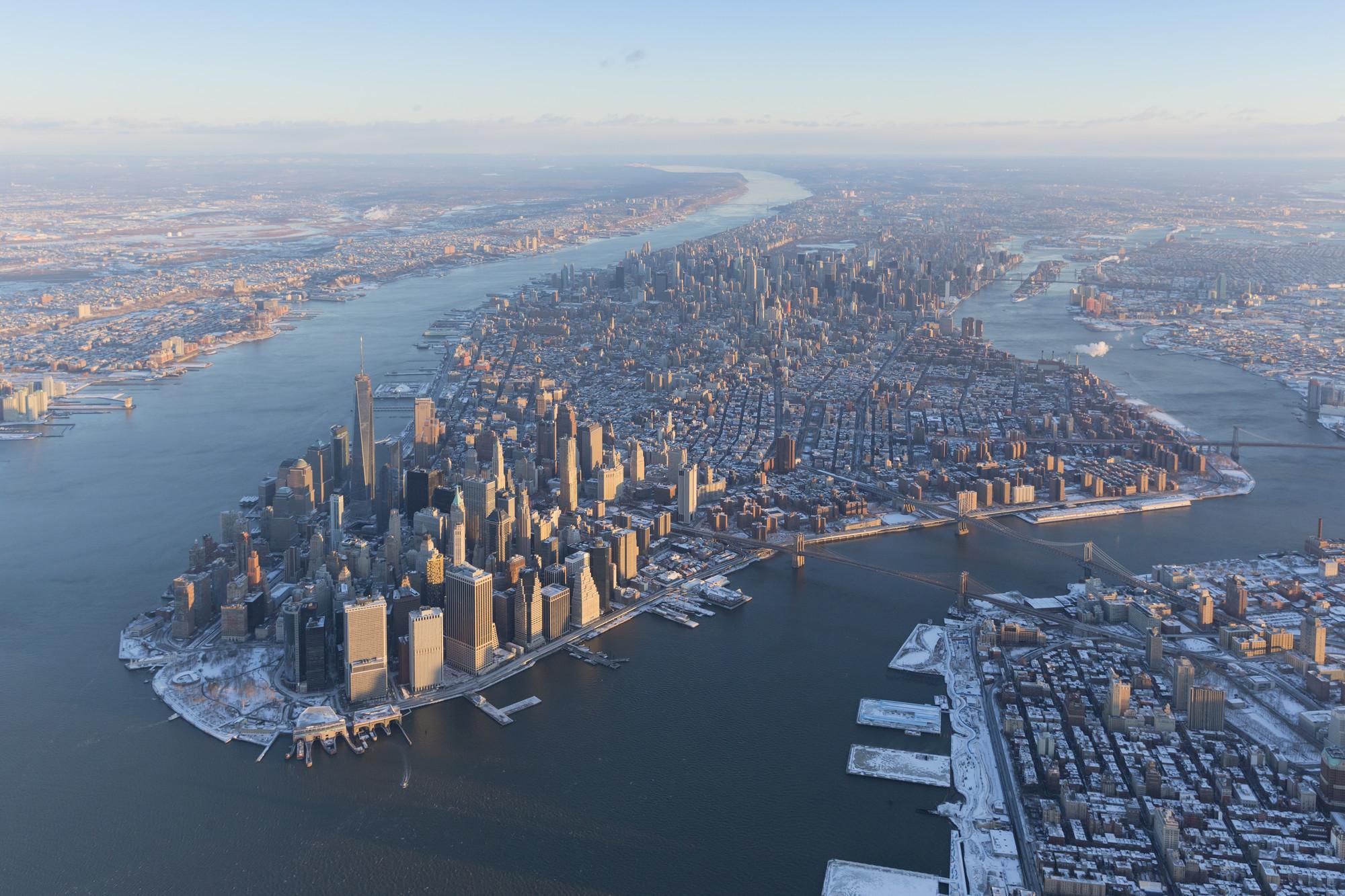 Invierno 2014, Ciudad de Nueva York. Imagen © Iwan Baan