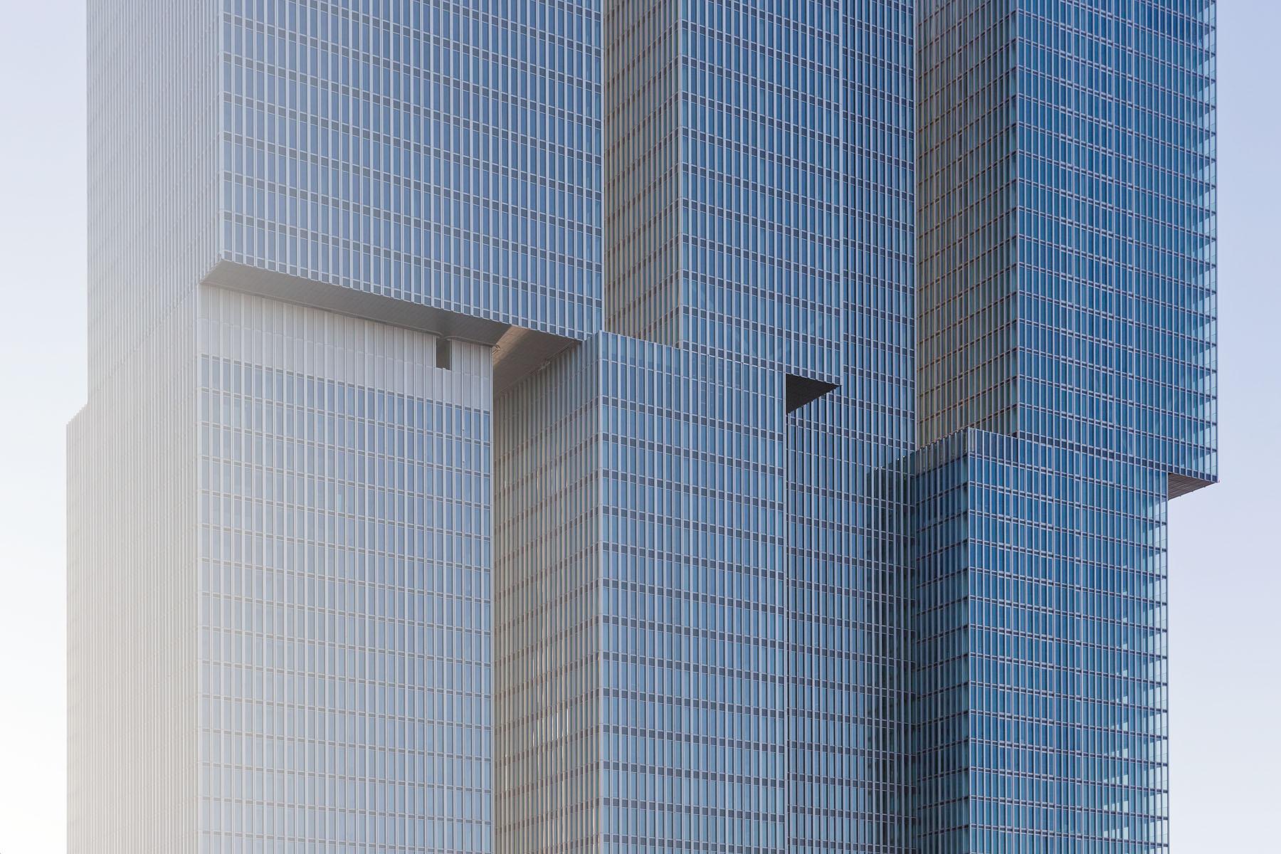 De Rotterdam, Rem Koolhaas; Rotterdam. Imagen © Iwan Baan
