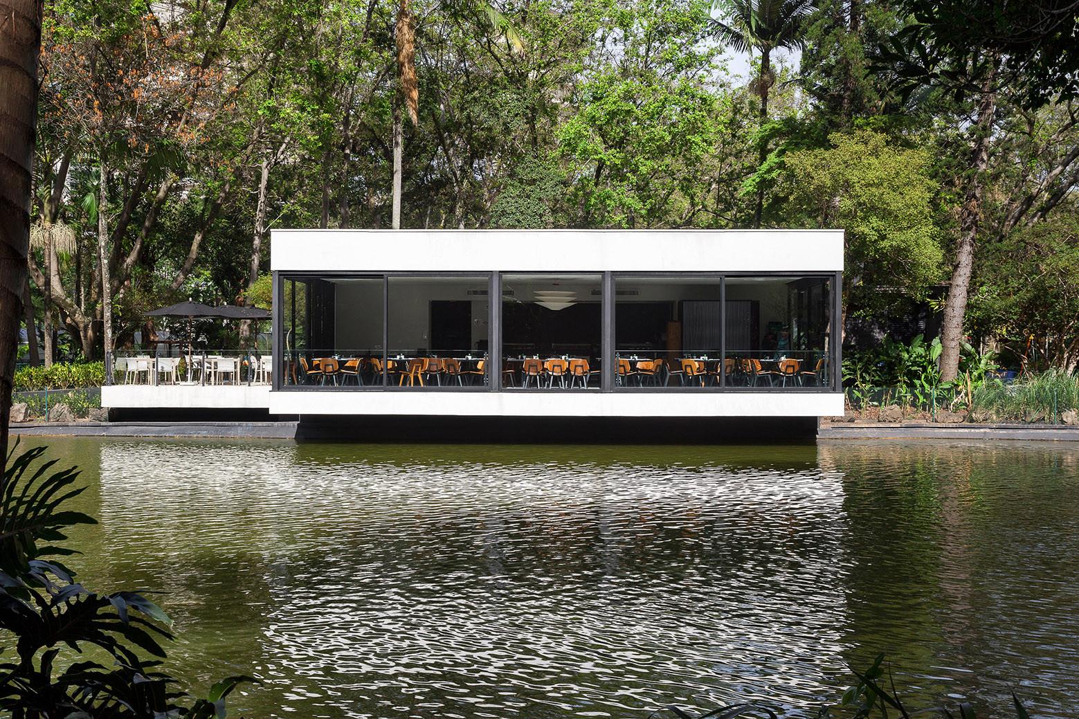 Restaurante del lago / mass arquitetura e Norea De Vitto, © Ana Mello