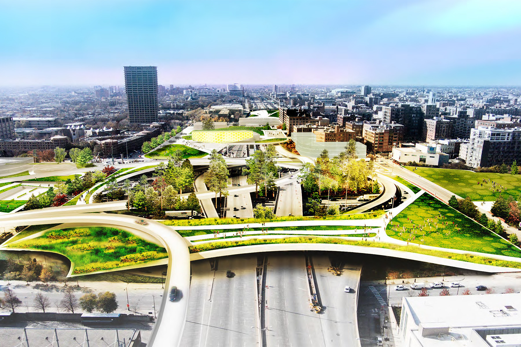 Four Presidential Libraries for Obama to Consider , University of Illinois at Chicago. Image Courtesy of UIC