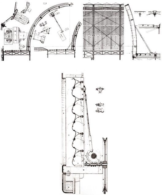 Elevación y Sección Cristal Palace en Londres (1851) de Joseph Paxton. Imagen Cortesía de Alejandra Celedón