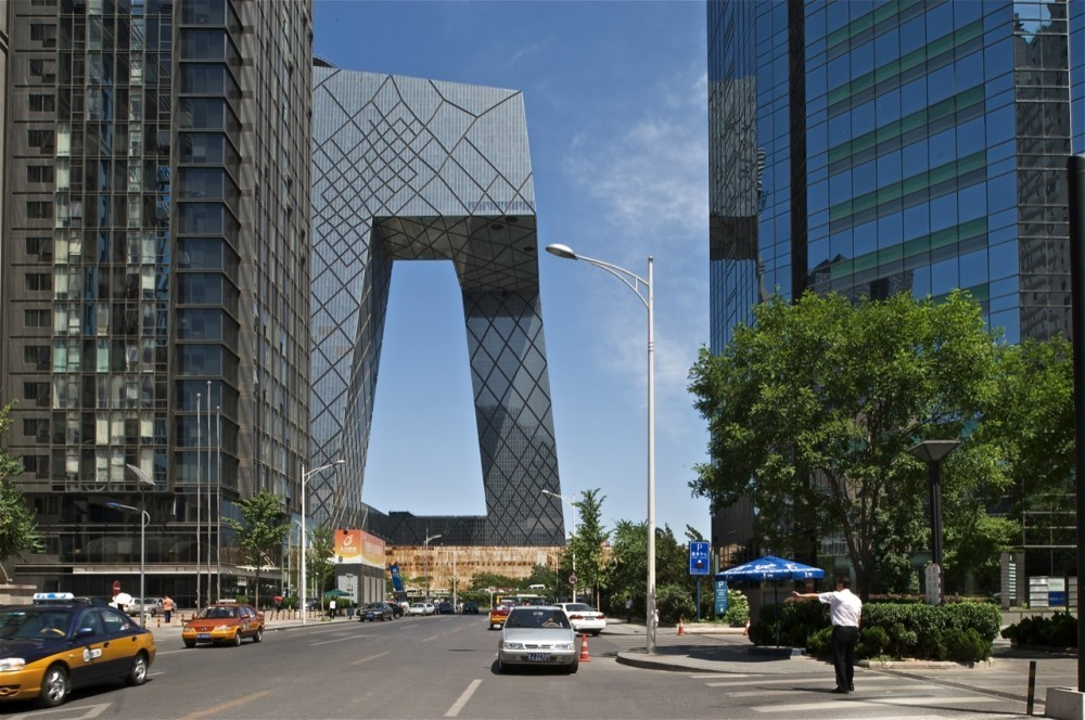 © OMA / Philippe Ruault . ImageSede CCTV en Beijing de OMA.