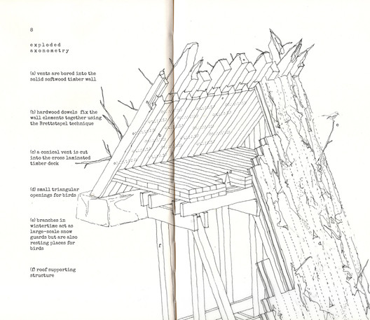 Retreat/Shelter/Nest by András Dankházi. Image Courtesy of Combo Competitions