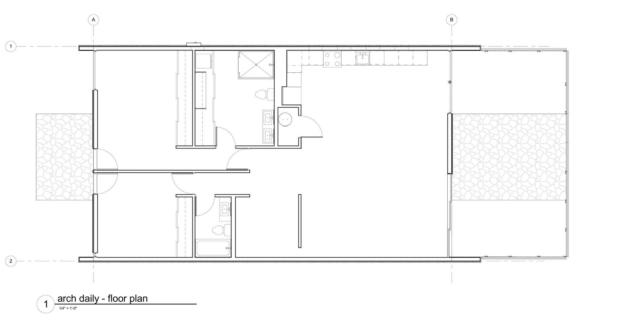 Vali homes prototype colab studio 180 degrees design for Prototype house plan