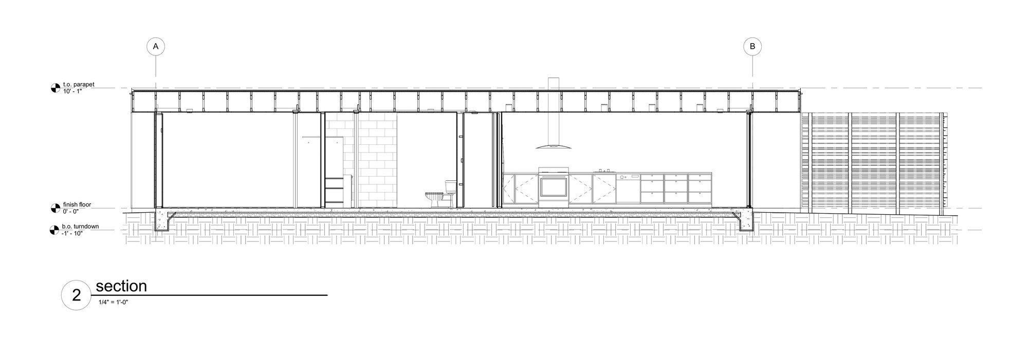 Vali homes prototype colab studio 180 degrees design for 180 degree salon