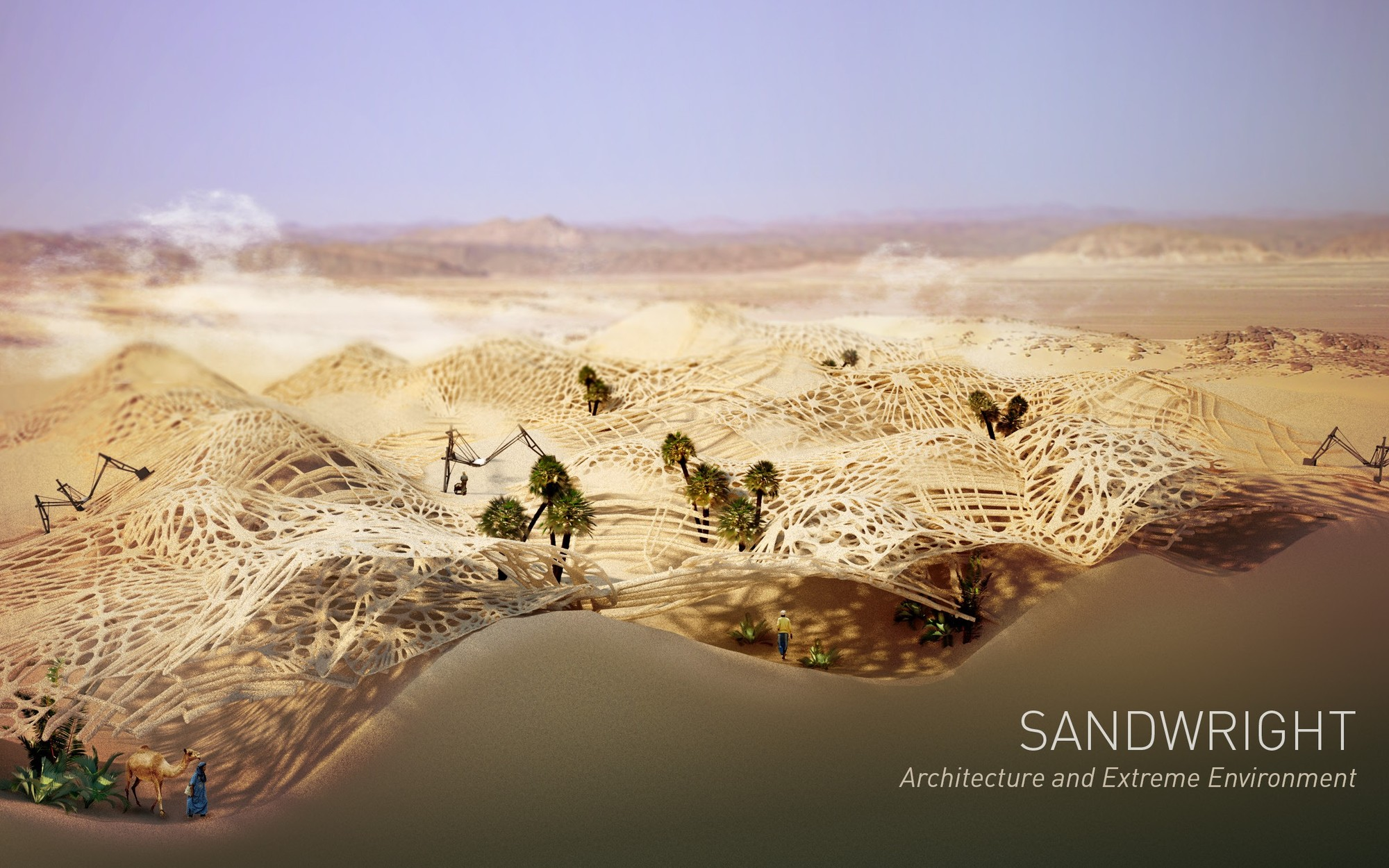 Architecture and Extreme Environment. Image Cortesia de Archiprix