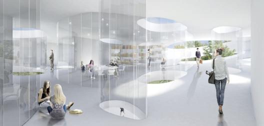 © Sou Fujimoto Architects, Courtesía de Liget Budapest