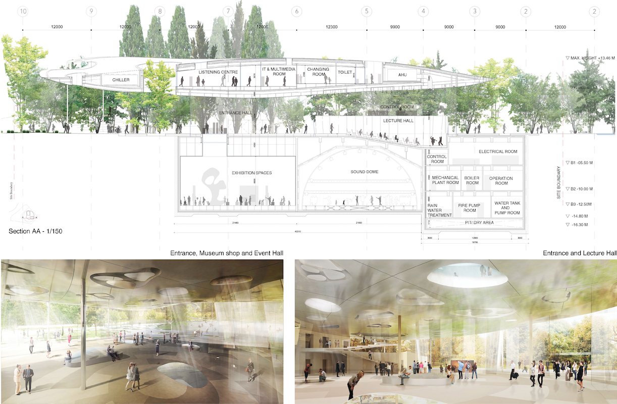Sou fujimoto chosen to design liget budapest 39 s house of for House of music