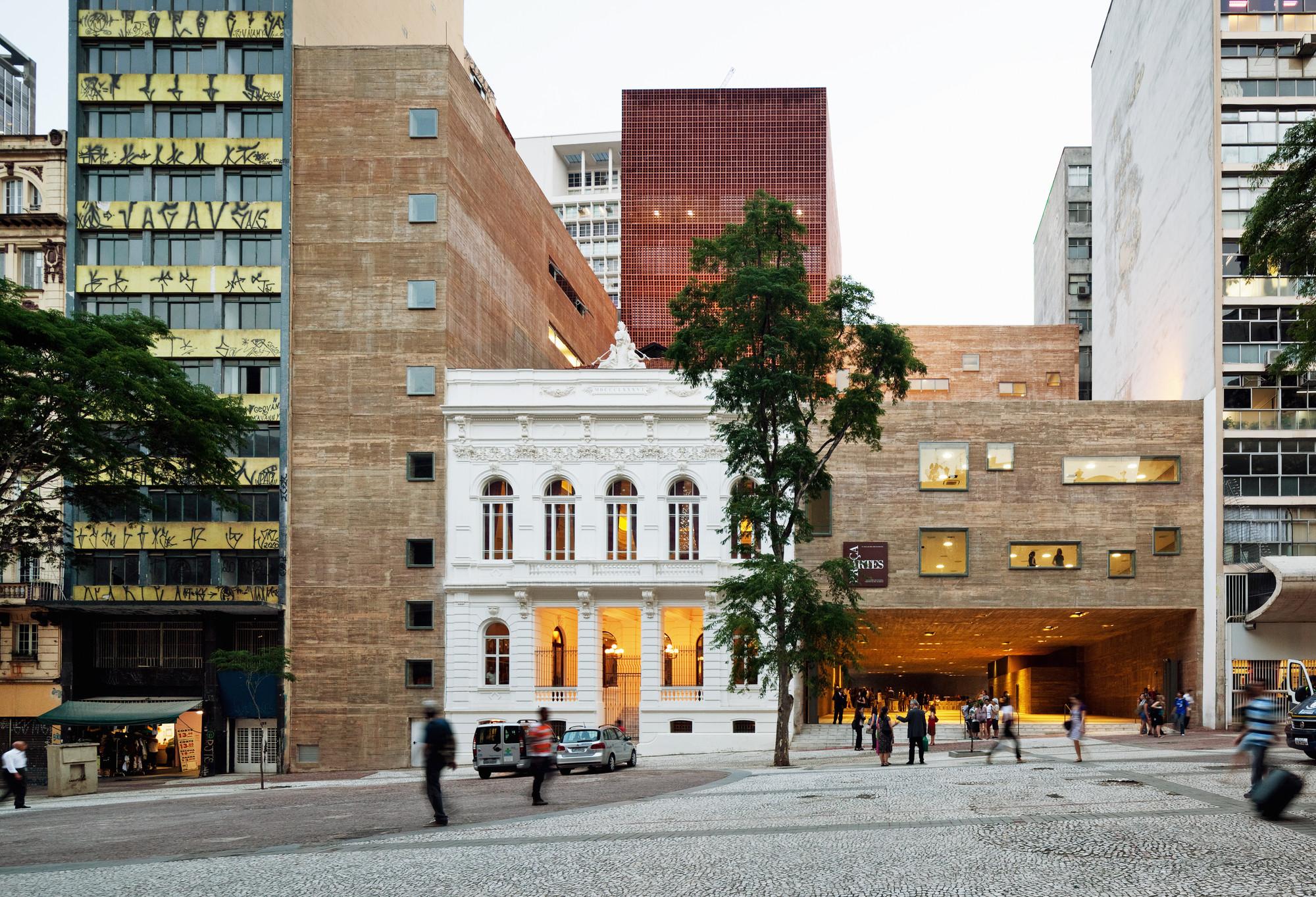 Plaza de las Artes, Sao Paulo. Image © Nelson Kon