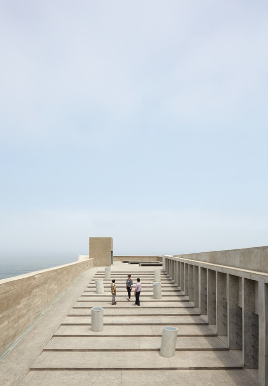 Lugar de La Memoria / Barclay & Crousse, © Cristobal Palma / Estudio Palma