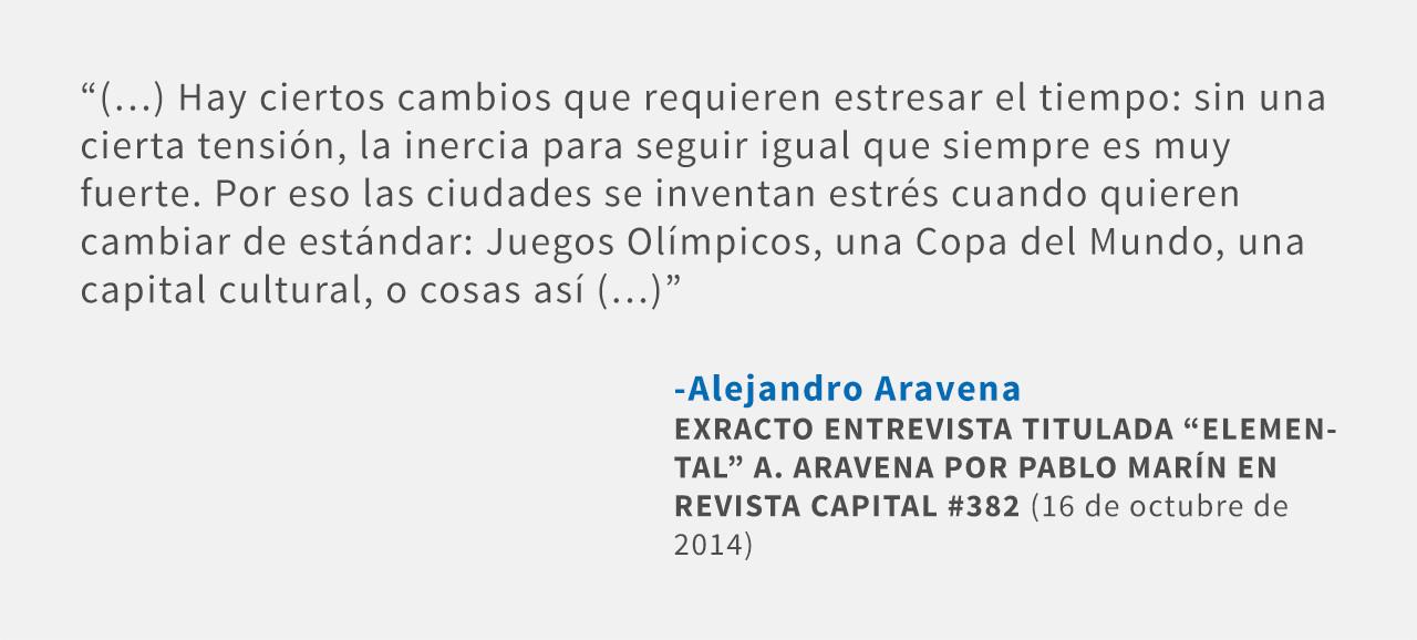 Frases: Alejandro Aravena