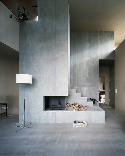 Gather Around ArchDaily's 12 Most Welcoming Fireplaces on Pinterest, House Müller Gritsch / AFGH © Valentin Jeck