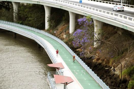 La mejor infraestructura ciclista en ciudades según The Guardian, © Brisbane, Australia © Bob Russell para Witness The Guardian