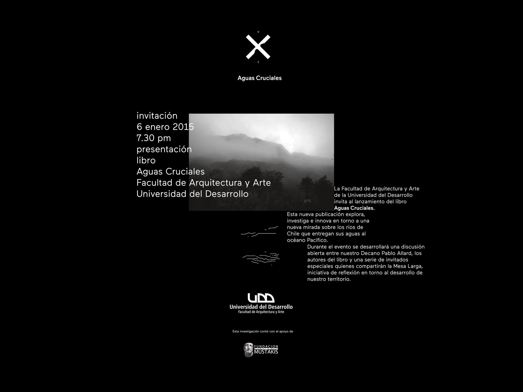 Presentación libro 'Aguas Cruciales' / Santiago, Chile