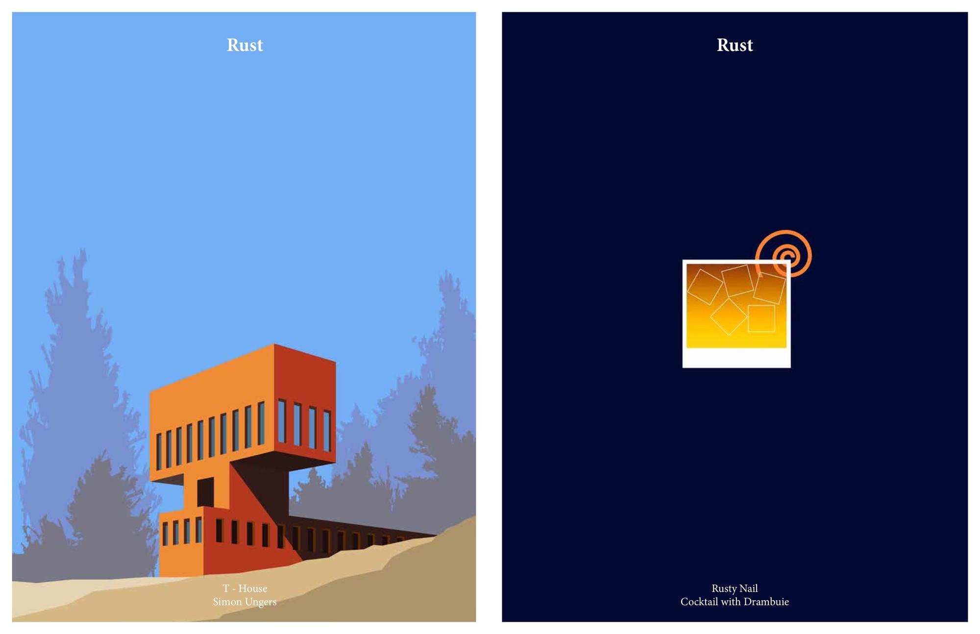 Casa T por Simon Ungers / Rusty Nail. Imágen cortesía de Kosmos Architects