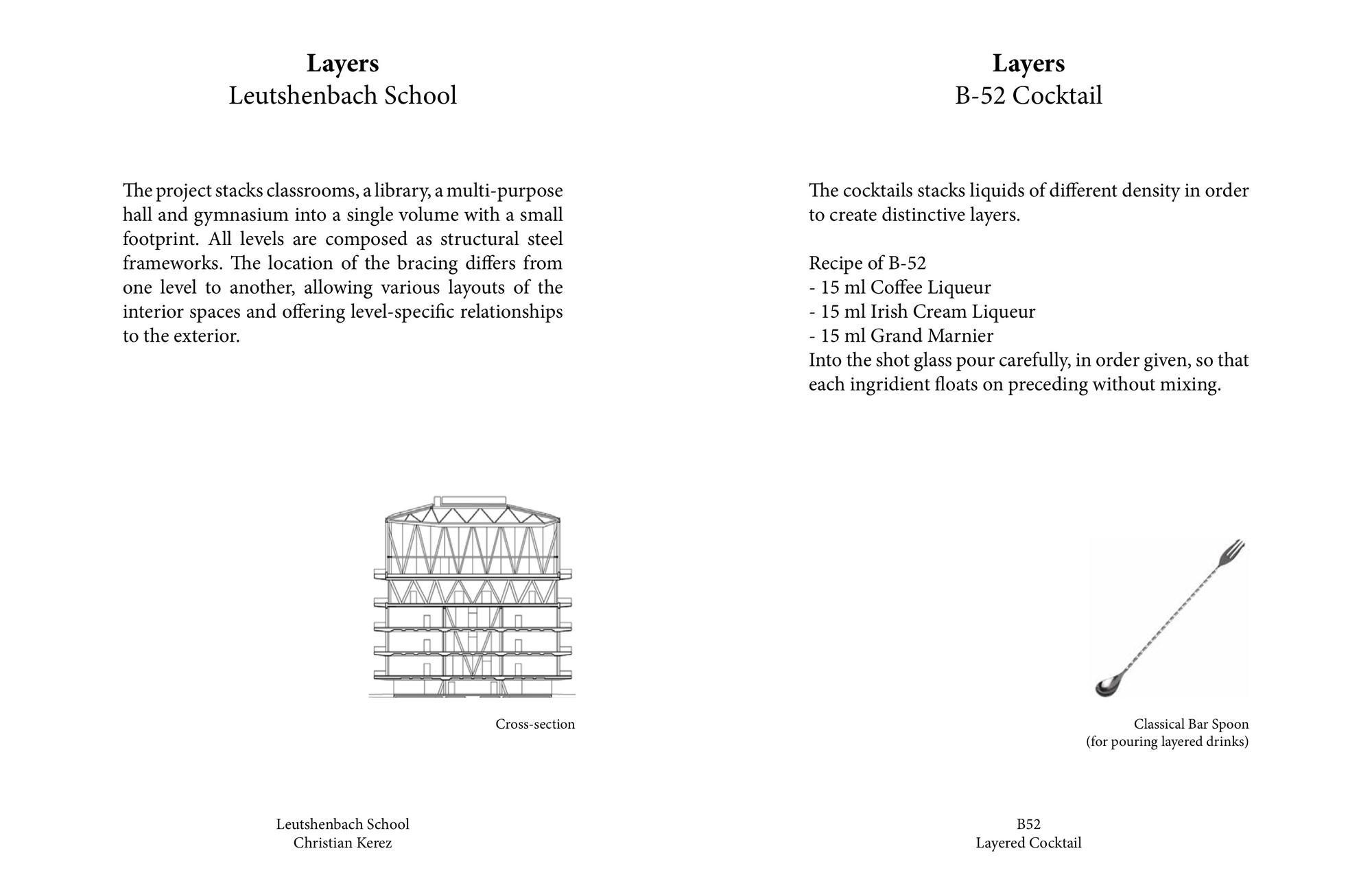 Colegio Leutschenbach por Christian Kerez / B52. Imágen cortesía de Kosmos Architects
