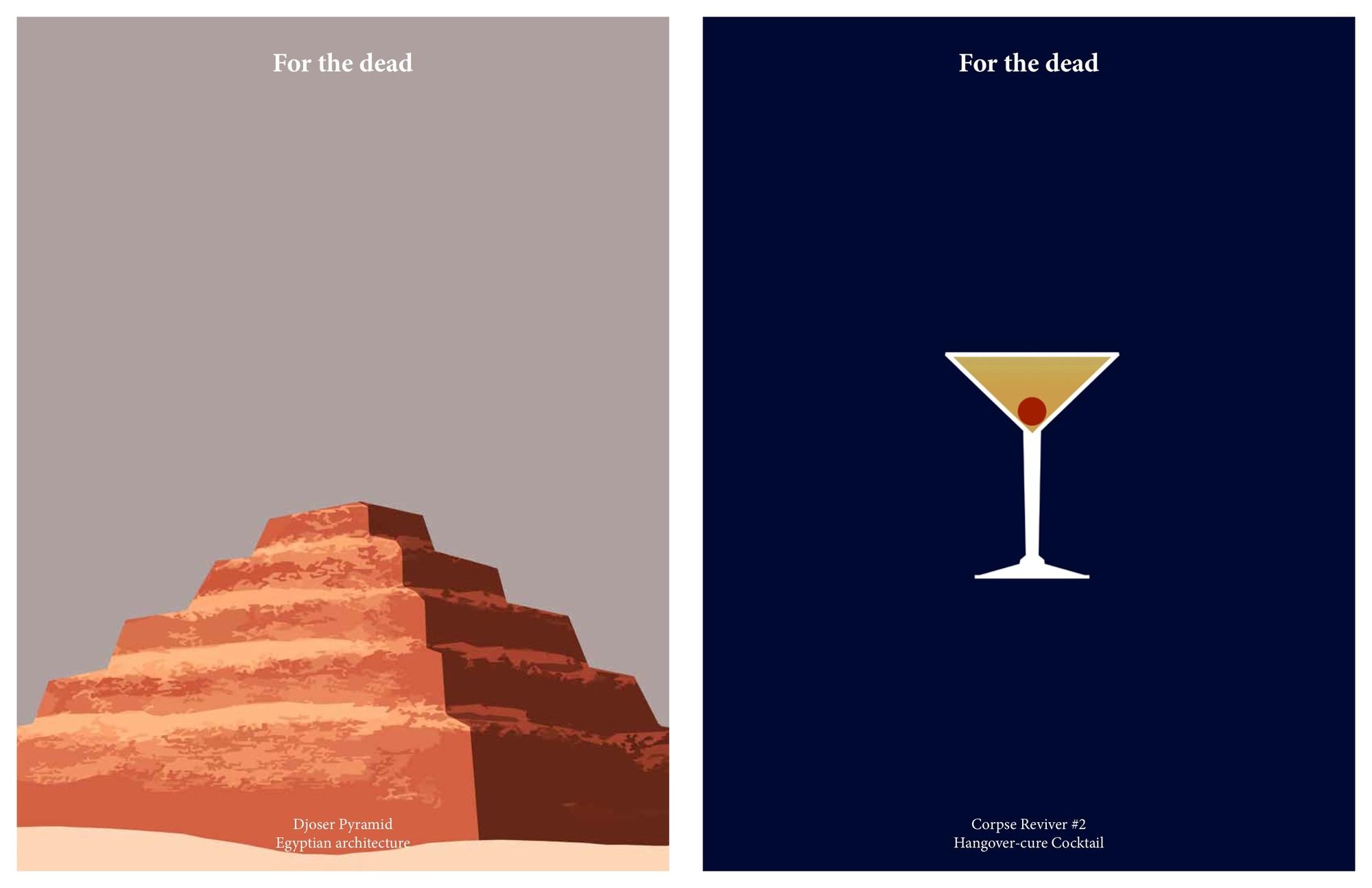 Pirámide de Djoser / Corpse Reviver #2. Imágen cortesía de Kosmos Architects