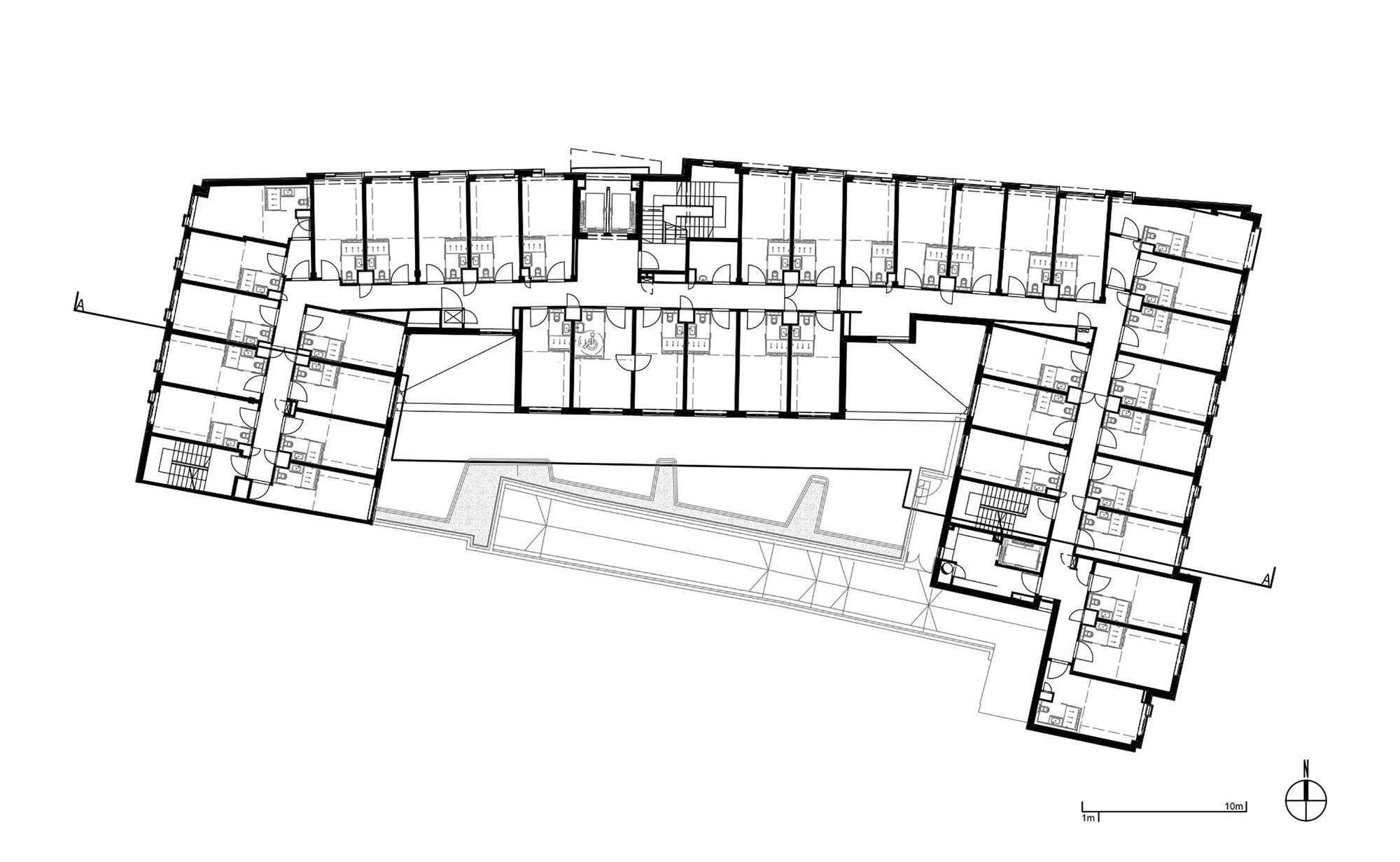 Sample Floor Plan Of A Restaurant Puro Hotel Asw Architekci Ankiersztajn Stankiewicz