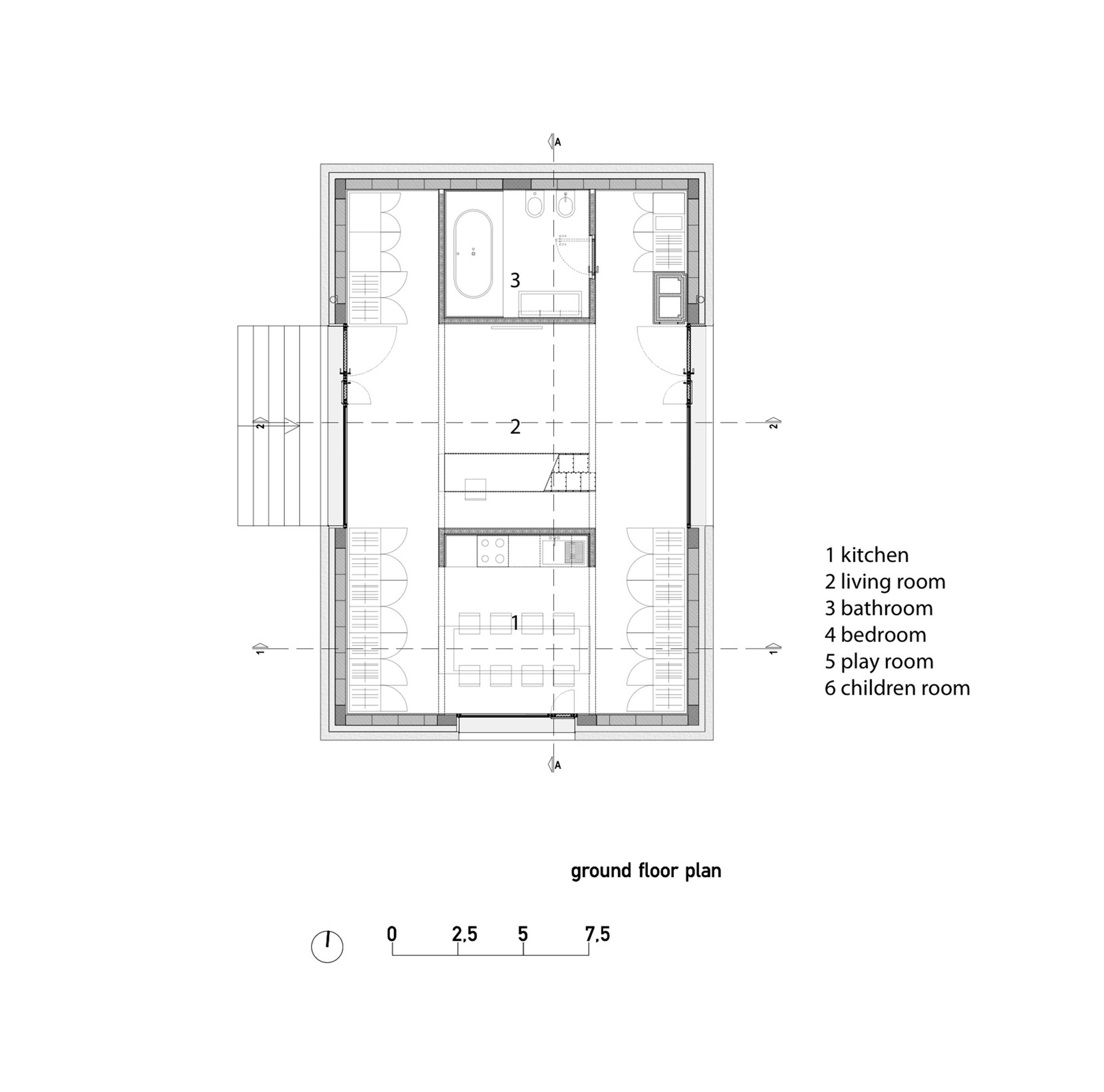 Buy Garage Gable Roof Plans further Floor Plans likewise Space Planning likewise Ryue Nishizawa moreover 54a221cde58ece20e800003b. on en house plans
