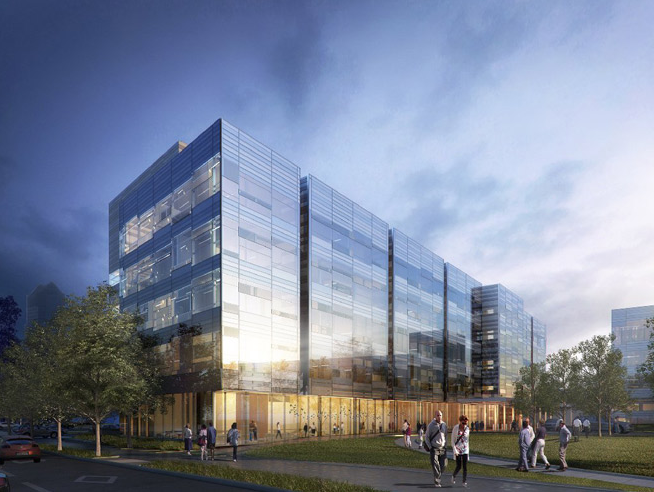 NBBJ to Design $85 Million Livingston Ambulatory Center in Columbus, Livingston Ambulatory Center. Image © NBBJ