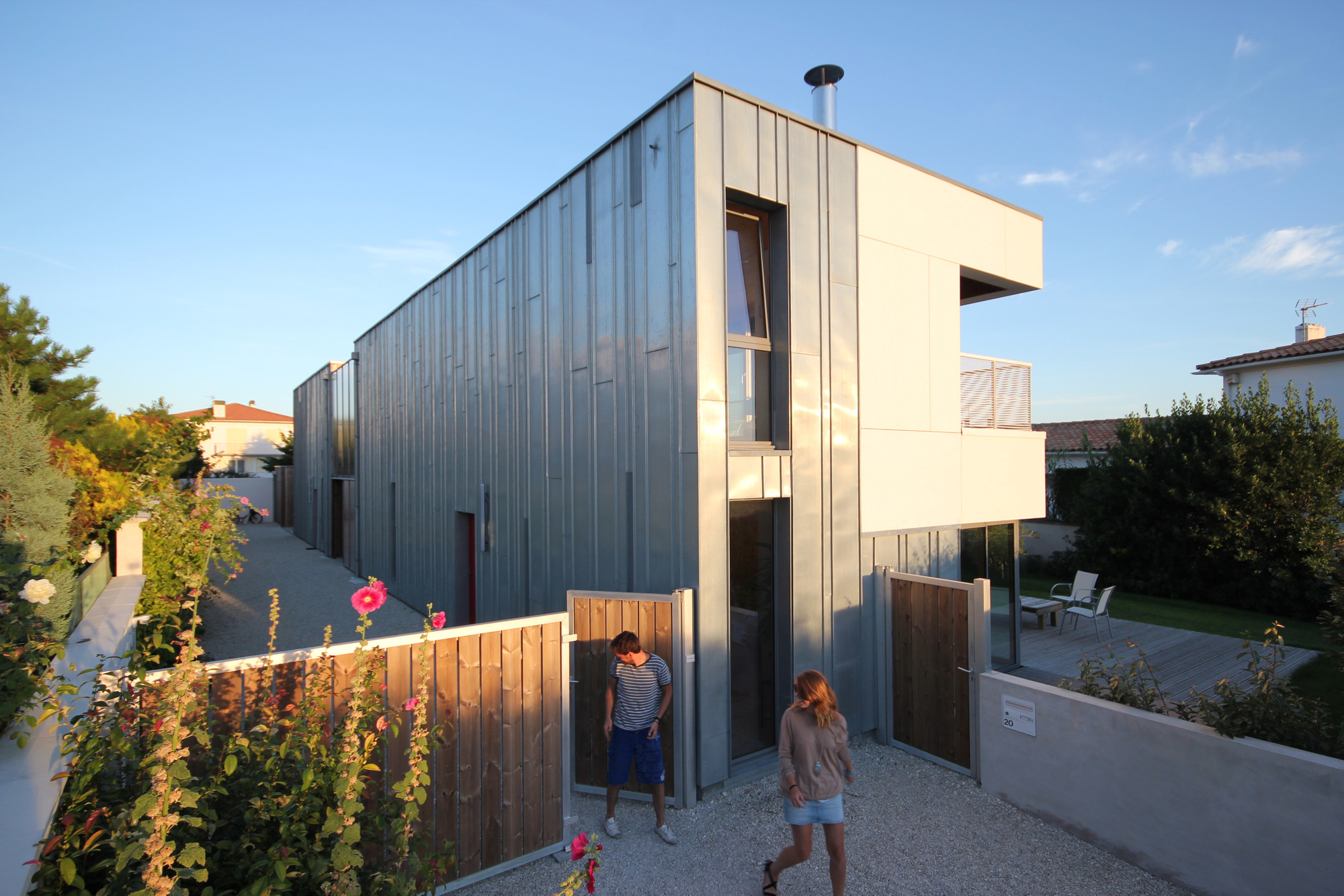 Gallery of 2 en 1 intergenerational house tica for I house architecture