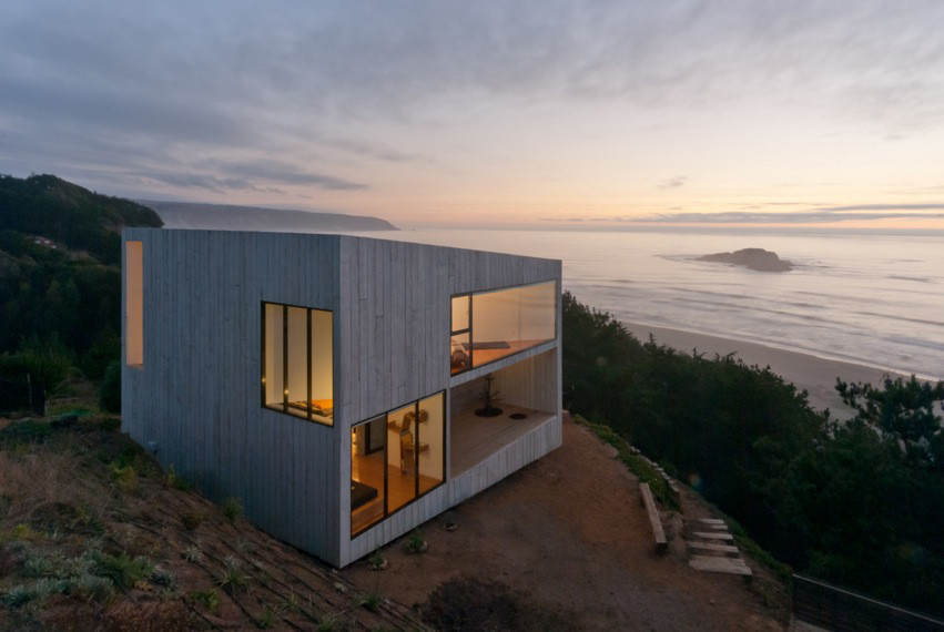 Archivo casas frente al mar plataforma arquitectura - Nice small house interior from a contemporary oceanfront residence ...