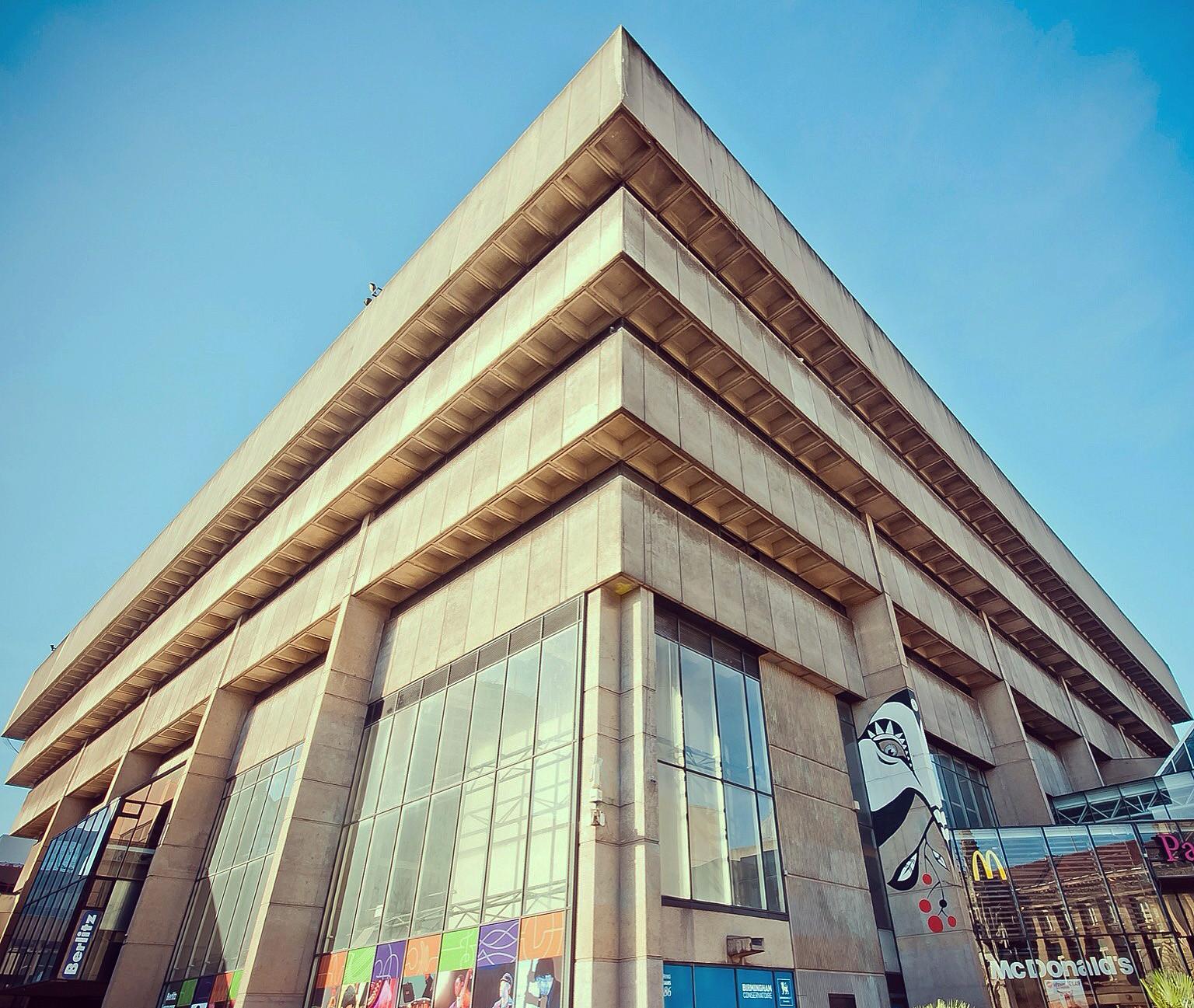 Demolition Begins On John Madin's Brutalist Former Library in Birmingham, The former library