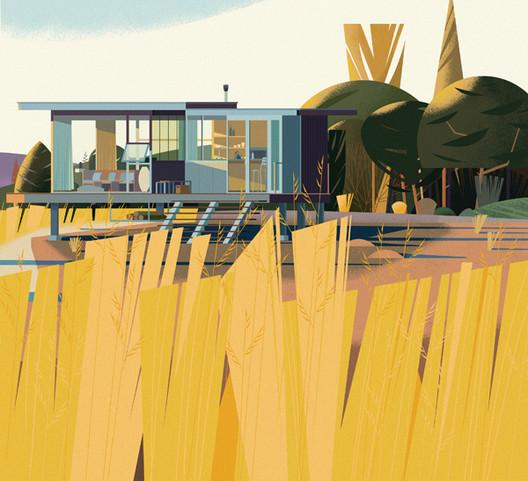 Clearlake IT Cabin, California. Image Cortesia de Marie-Laure Crushi