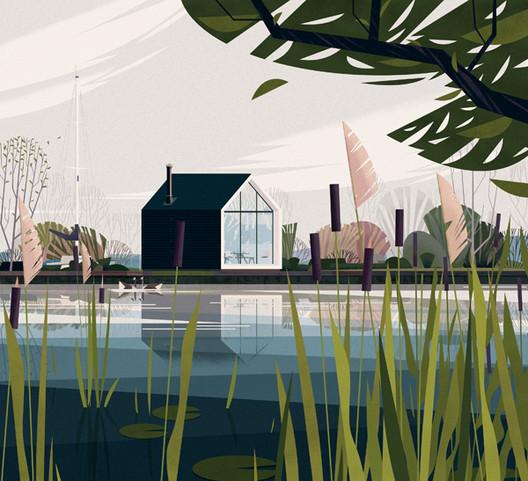 Island House, Holanda. Image Cortesia de Marie-Laure Crushi