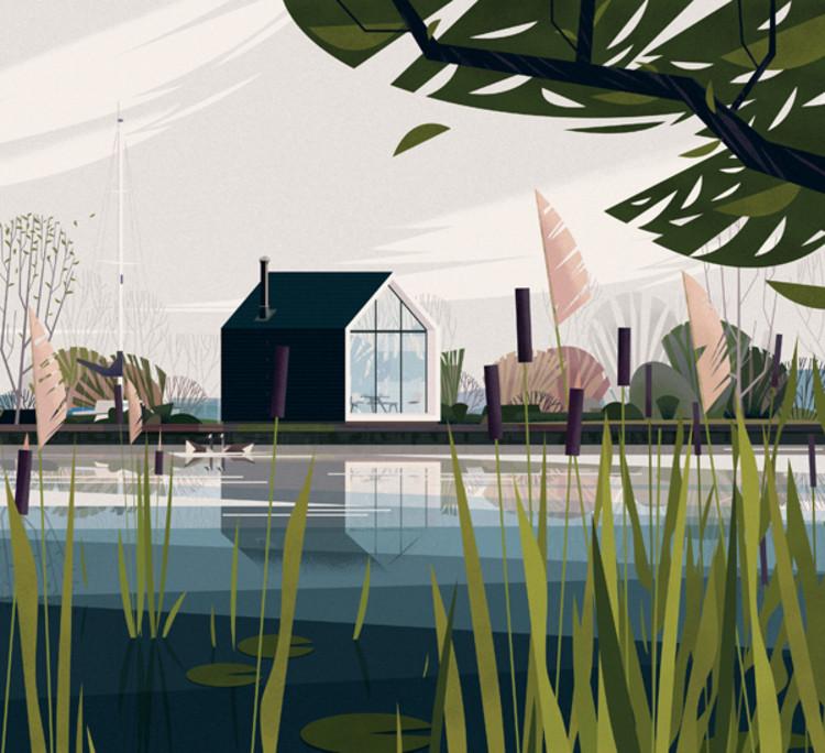 Island House, Holanda. Image Cortesía de Marie-Laure Crushi