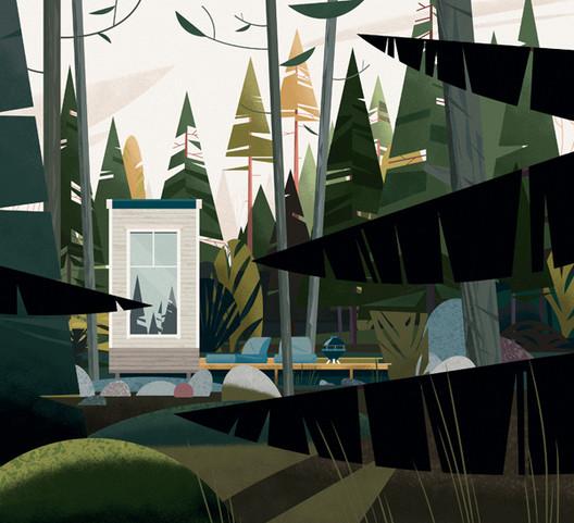 Casa Nido, Finlandia. Image Cortesia de Marie-Laure Crushi