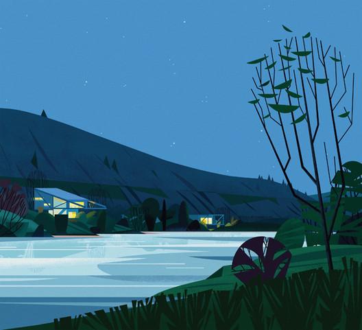River Place, USA. Image Cortesia de Marie-Laure Crushi
