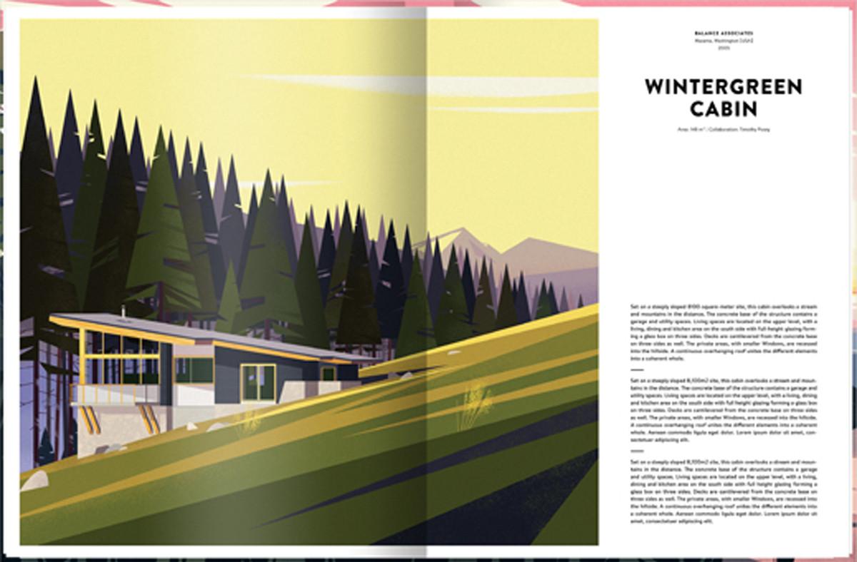 Wintergreen Cabin, Washington. Image Cortesia de Marie-Laure Crushi