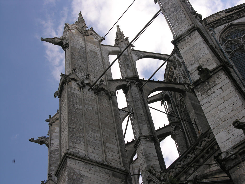 New Research Proves that Iron Was an Important Medieval Building Material, At Beauvais Cathedral, iron ties that were thought to have been added centuries after construction were instead dated to the early 13th century. Image © Flickr CC user James Mitchell