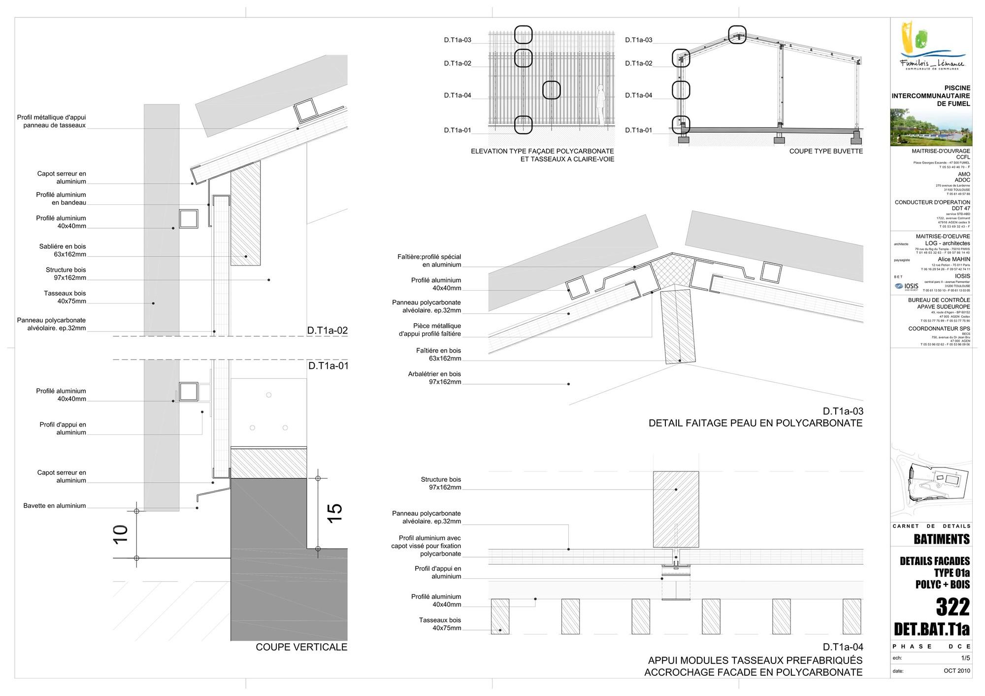 gallery of th tre d 39 eau swimming pool log architectes 36. Black Bedroom Furniture Sets. Home Design Ideas