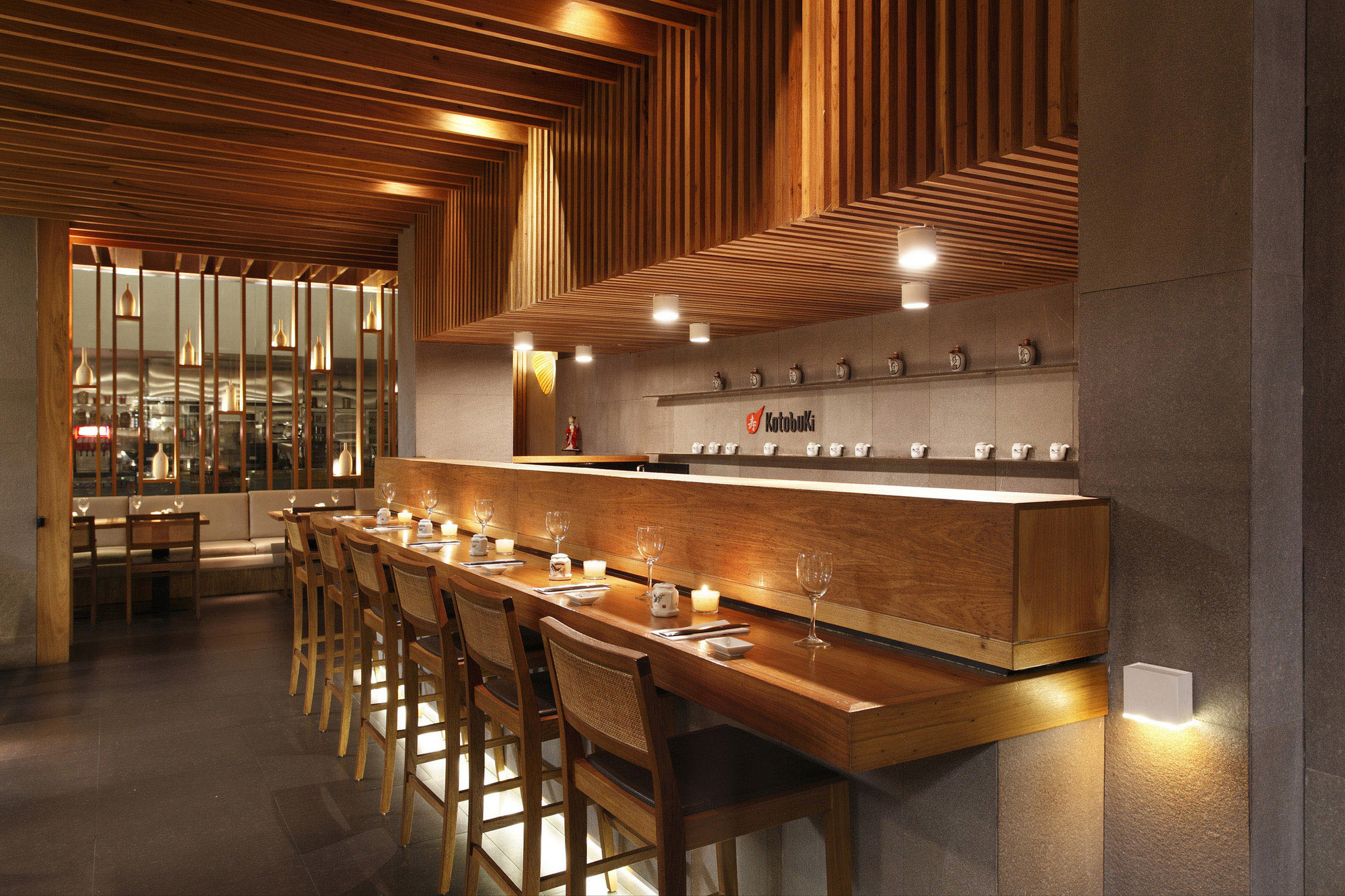 Restaurante kotobuki ivan rezende arquitetura for Restaurante arquitectura