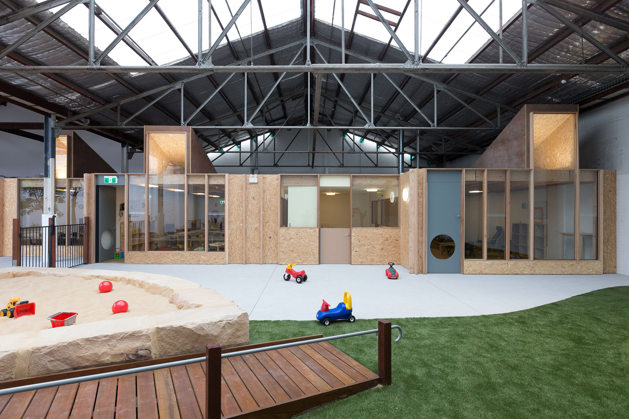 Camperdown Childcare Co Ap Archdaily