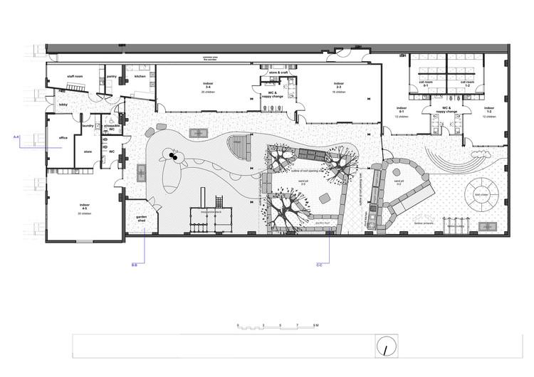 Daycare Building Floor Plans: Camperdown Childcare / CO-AP