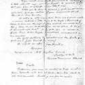 Letter from Aranda to Gaudí (1922). Image © Corporación Gaudí de Triana