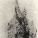 "Croquis of the Our Lady of Angels"" Chapel. Image © Corporación Gaudí de Triana"